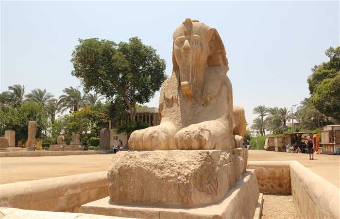 Alabaster Sphinx of Memphis