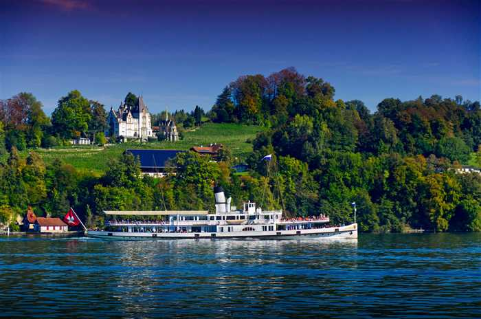 Cruise Lucerne lake, Switzerland