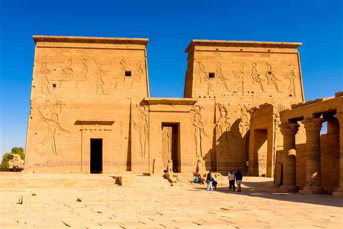Philae Temple or Temple of Isis