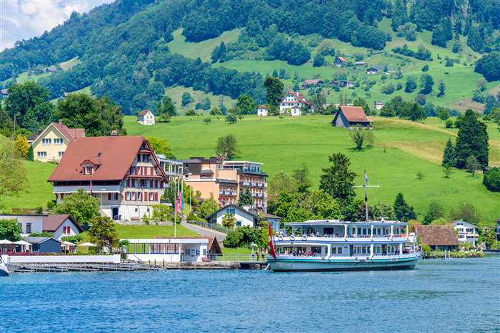 Lucerne lake cruise, Switzerland